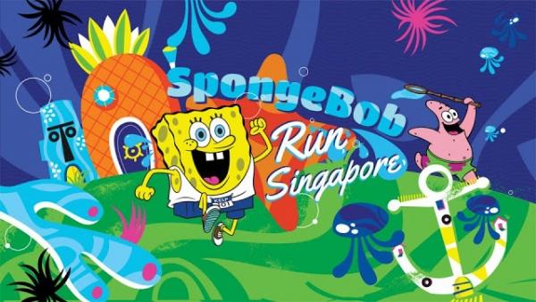 SpongeBob Run Singapore 2016 | Run with Zanne Xanne