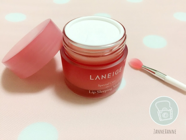 Laneige Lips Sleeping Mask Review By Zanne Xanne~ Solution for Cracked Lips