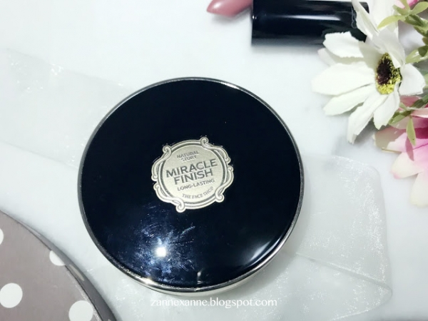 THE FACE SHOP | Miracle Finish CC Long Lasting Cushion SPF50 Review By Zanne Xanne