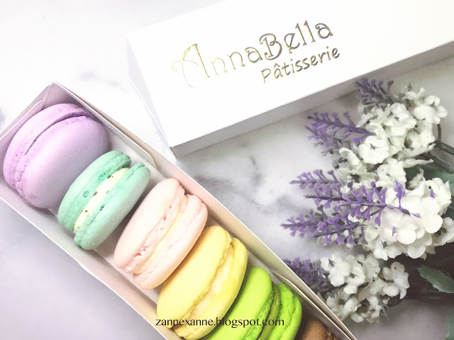 AnnaBella Pâtisserie Macarons Review By Zanne Xanne