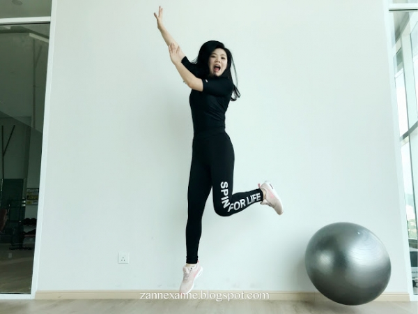 Spin Sportswear Review By Zanne Xanne | Make You Feel Stronger & Confident