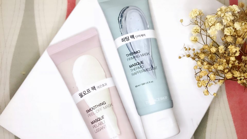 The Face Shop Smoothing Peel Off Mask & Thermo Firming Mask Review By Zanne Xanne