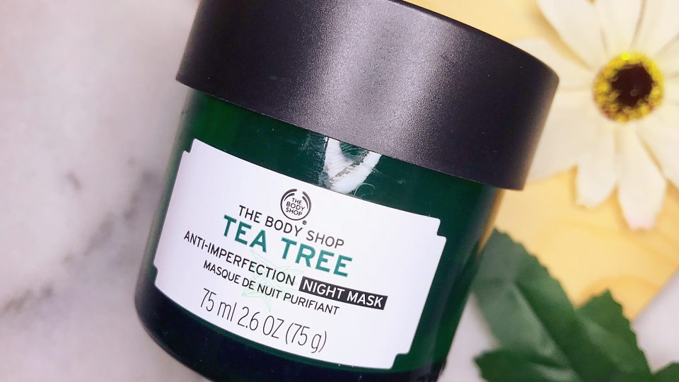 The Body Shop Anti-Imperfection Night Mask Review By Zanne Xanne