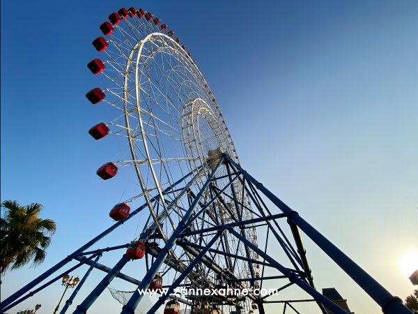 Sky Dream Ferris Wheel  ~ The New Landmark Of Taichung | Zanne Xanne's Travel Guide