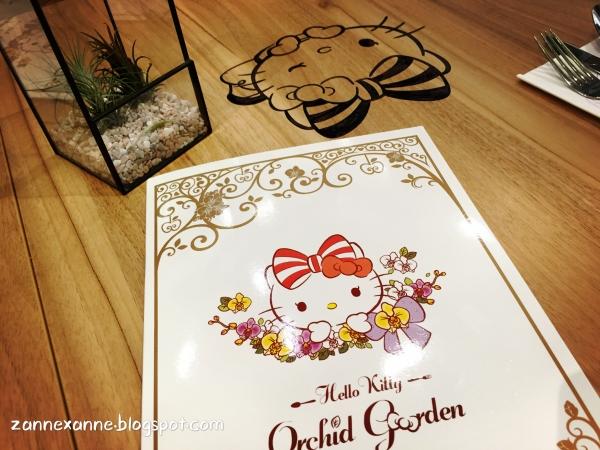 Hello Kitty Orchid Garden, Singapore | Zanne Xanne's Travel Guide