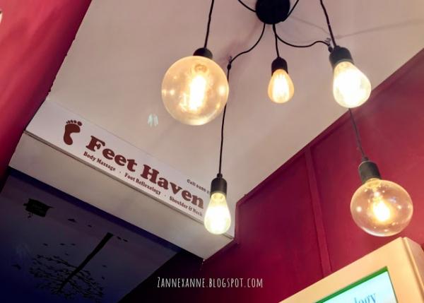 Feet Haven Serangoon Gardens Review By Zanne Xanne  Nice Reflexology Massage