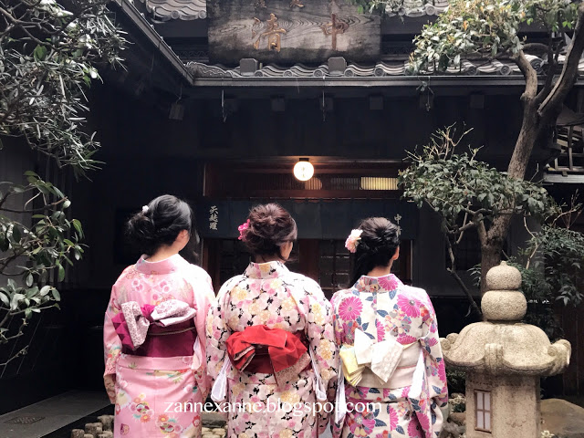 Kimono Rental Experience | 八重 Yae, Asakusa Tokyo | Zanne Xanne's Travel Guide