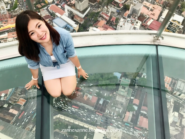 THE TOP Komtar Penang | Rainbow Skywalk | Zanne Xanne's Travel Guide
