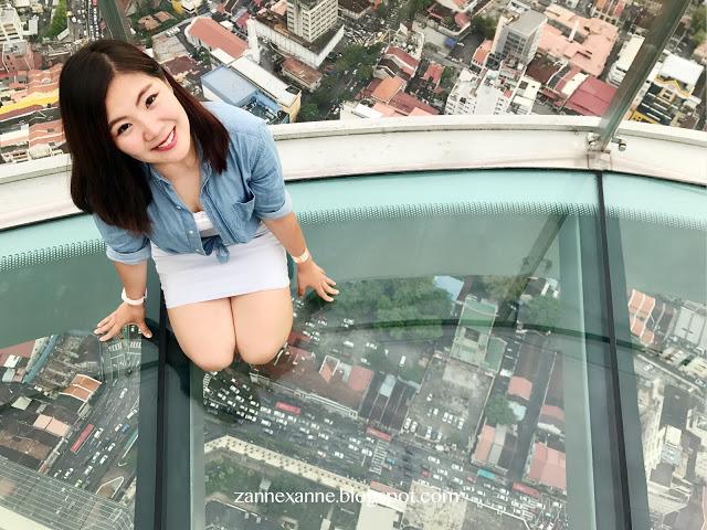 THE TOP Komtar Penang   Rainbow Skywalk   Zanne Xanne's Travel Guide
