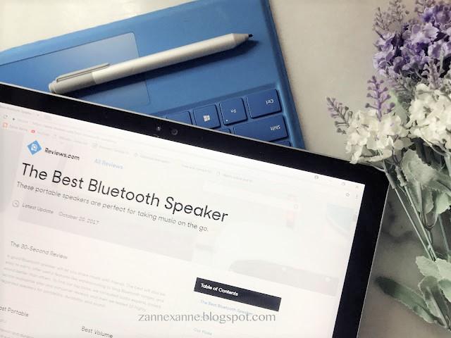Review.com | Best Bluetooth Speaker By Zanne Xanne