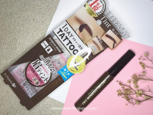 K -Palette 1 Day Tattoo Lasting Eyebrow Tint Review By Zanne Xanne