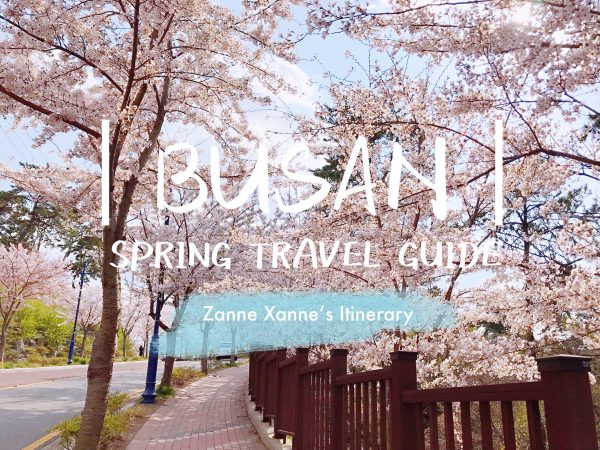 Busan Spring Travel Guide | Zanne Xanne's Itinerary