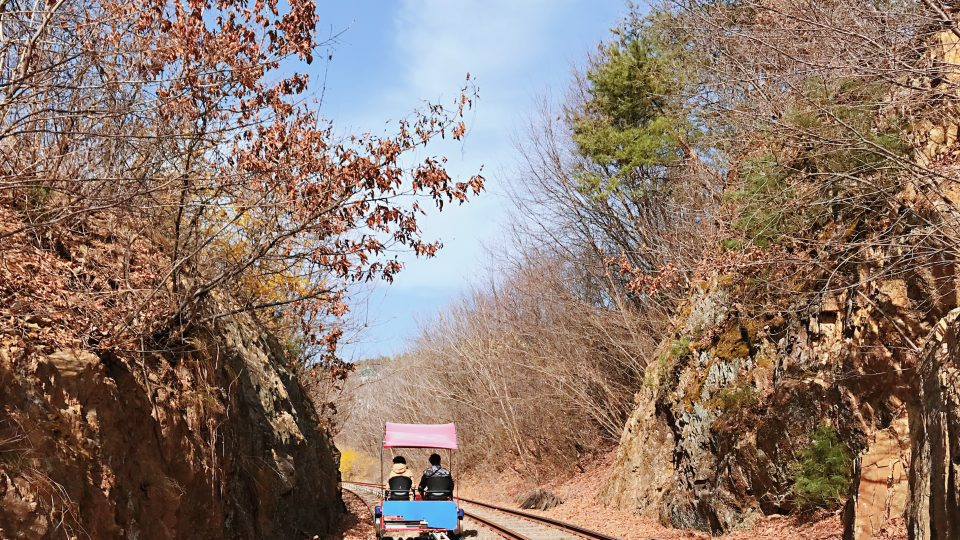 Gapyeong Rail Park | Zanne Xanne's Travel Guide