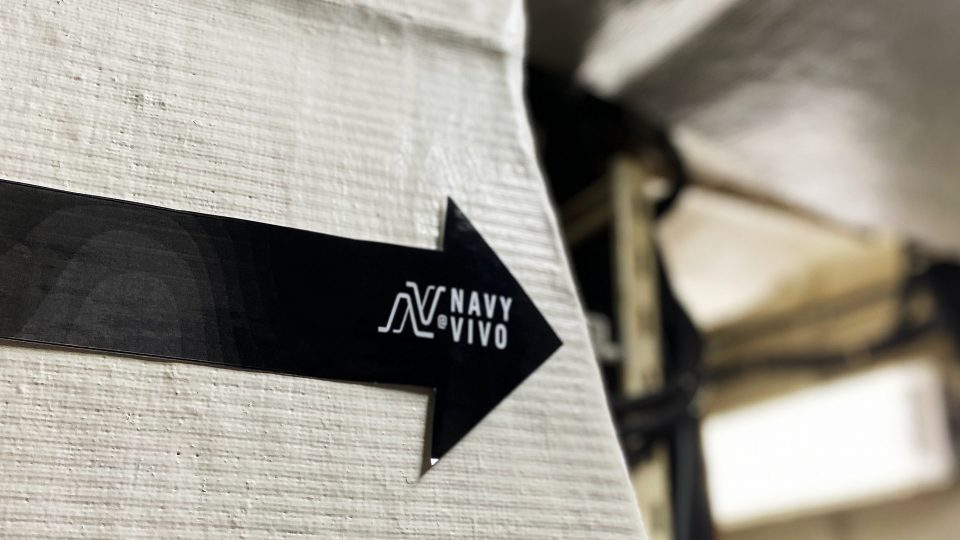 Navy@Vivo | Connecting To The Sea by Zanne Xanne