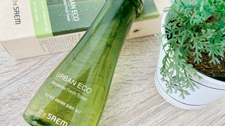 The Saem | Urban Eco Harakeke Fresh Toner Review by Zanne Xanne